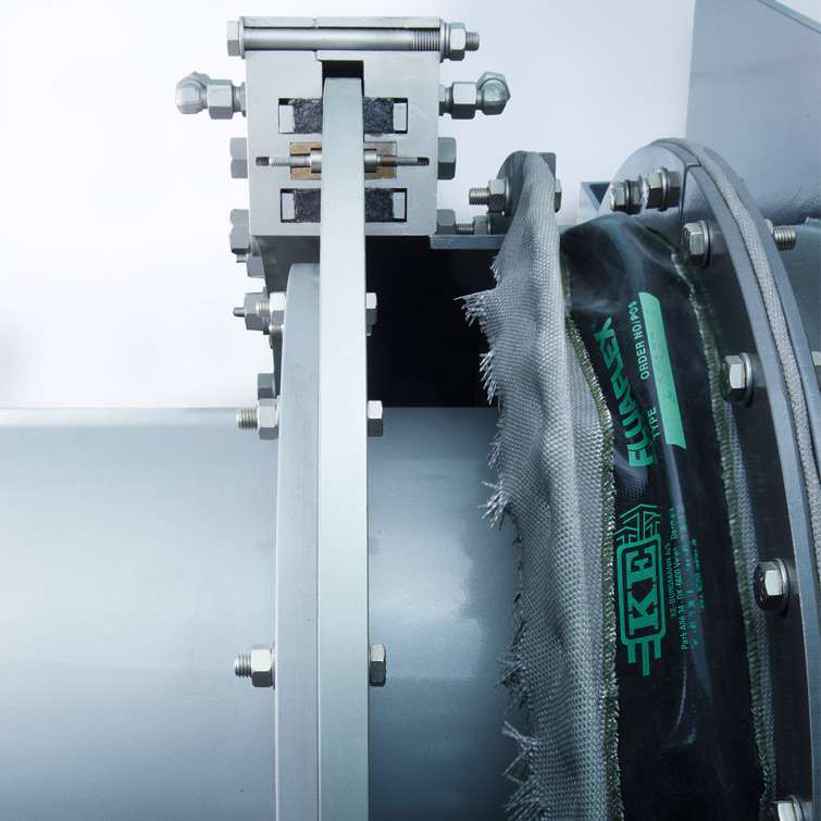 DRO <br/>Rotary kiln sealing system