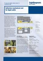 Solution: SulfurAce mechanical seal for liquid sulfur